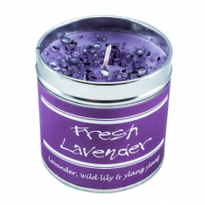 Best Kept Secrets FRESH LAVENDER Candle Tin - Seriously Scented! - 50 hr burn
